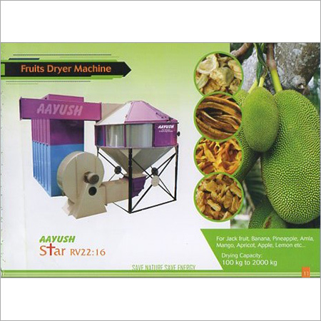 Fruits Dryer Machine