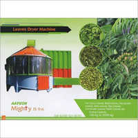 Leaves Dryer Machine