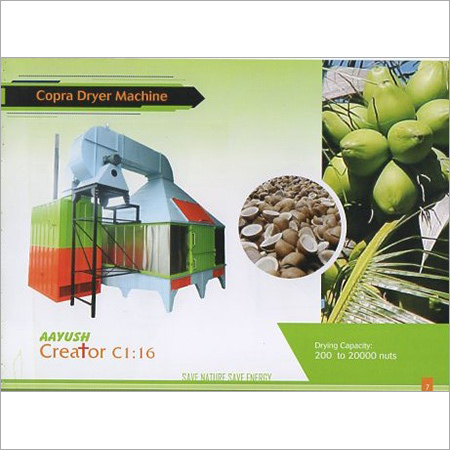 Copra Dryer Machine