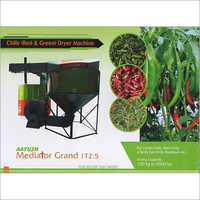 Chilly Red And Green Dryer Machine
