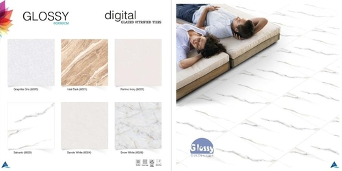 Glossy Glazed Vitrified Tiles 60x60cm