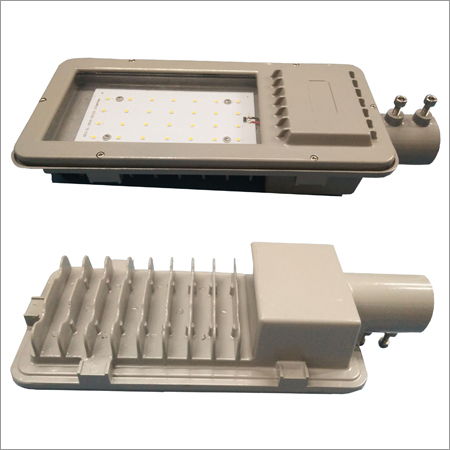 LED Street Light Back Front