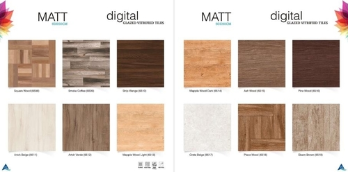 Matt Vitrified Tiles 60x60cm