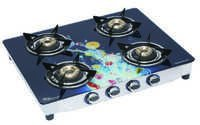 LPG GAS STOVE 4 BURNER ( DIGITAL GLASS)
