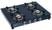 LPG GAS STOVE 4 BURNER (GLASS)