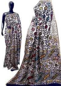 Battik Print Saree