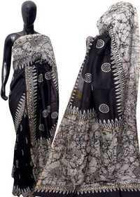 HandBlock Batik Print Saree