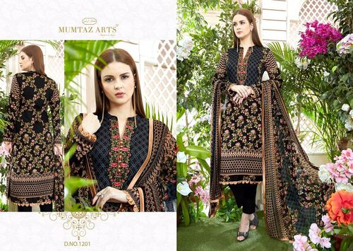 Pakistani Lawn Cotton Embroidery Salwar Suit