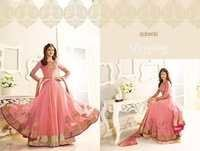 Georgette Based Anarkali Salwar Suit