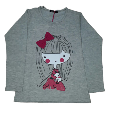 Ladies Printed Sweat Shirt