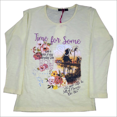 Girls Printed T- Shirt