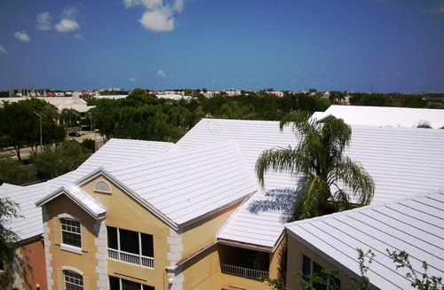 White Reflective Roof Coating