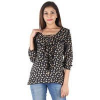 Rayon Printed Casual Top