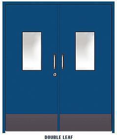 Powder Coated Clean Room Doors