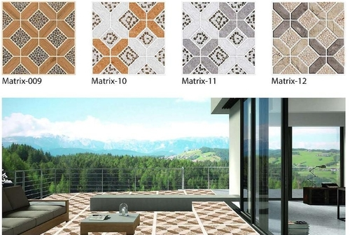 Digital Ceramic Floor Tiles / 300 x 300mm