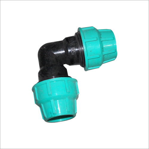 Elbow HDPE Compression Fitting