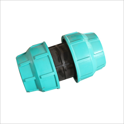 Coupler Compression Plastic Fitting