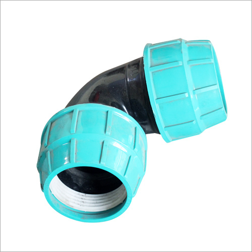 Plastic Elbow Compression Fitting