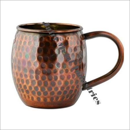 Elegant Copper Mugs