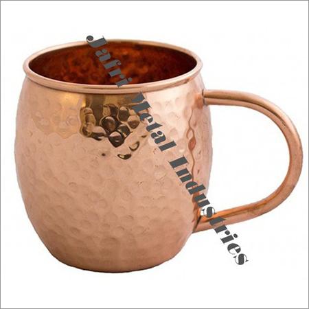 C Shaped Copper Mugs