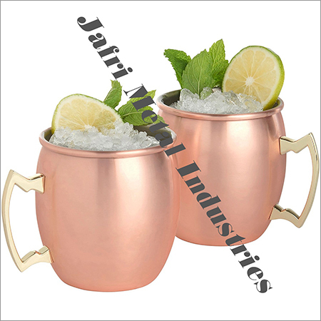 Pure Copper Mugs Set