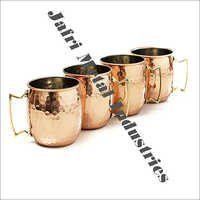 Copper Mugs Set