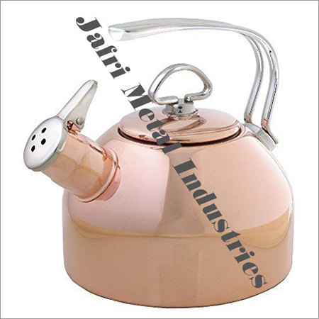 Copper Whistling Tea Kettle