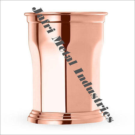 Copper Julep Glass
