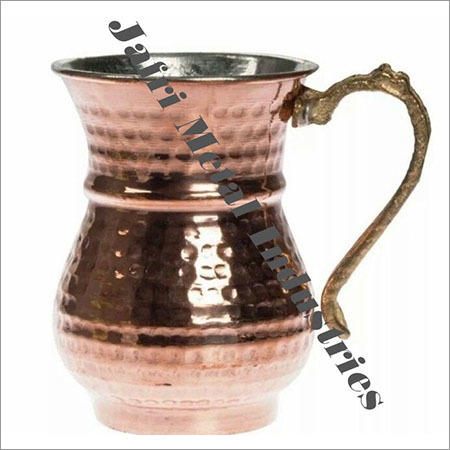 Pure Copper Hammered Jugs