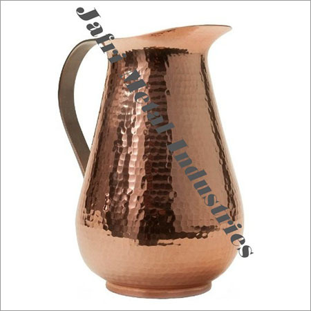 Copper Catering Hammered Jugs