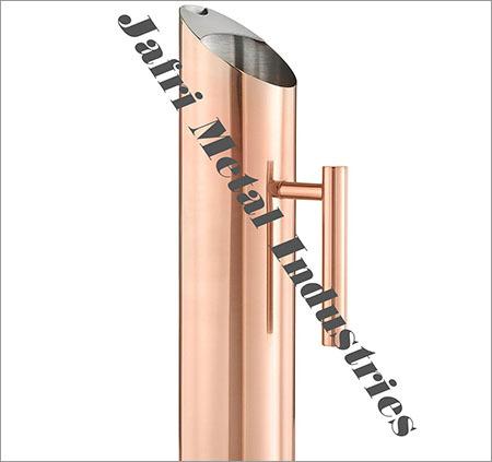 Copper Finish Water Pitcher Jug