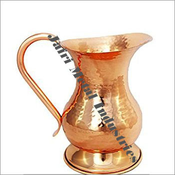 Copper Hammered Jugs