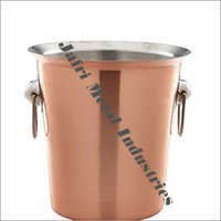 Copper Ice Container