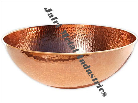 Copper Ice Buckets - Trays and Tubs