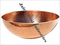 Hammered Copper Ice Trays
