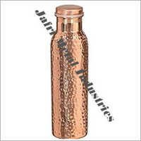 Hammered Jointless Copper Bottles
