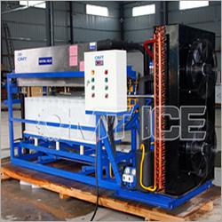 Aluminium Evaporator Direct Cooled Block Ice Machine