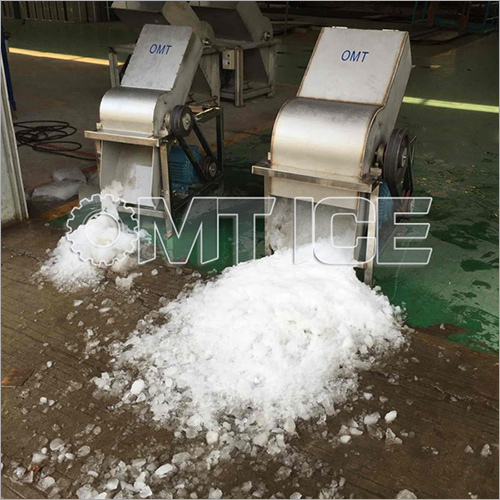 Block Ice Crusher Making Machine
