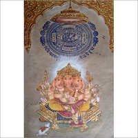 Lord Ganesha Miniature Paintings