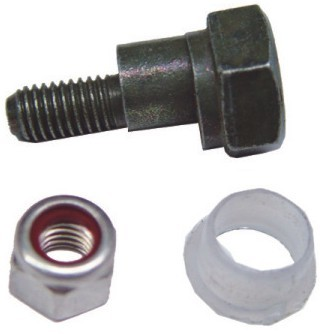Brake Pedal Eccentric Pin with Bush