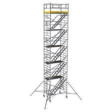 Mobile Scaffold Tower With Stairway