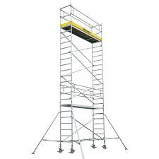 Mobile Scaffold Tower With Stabiliser