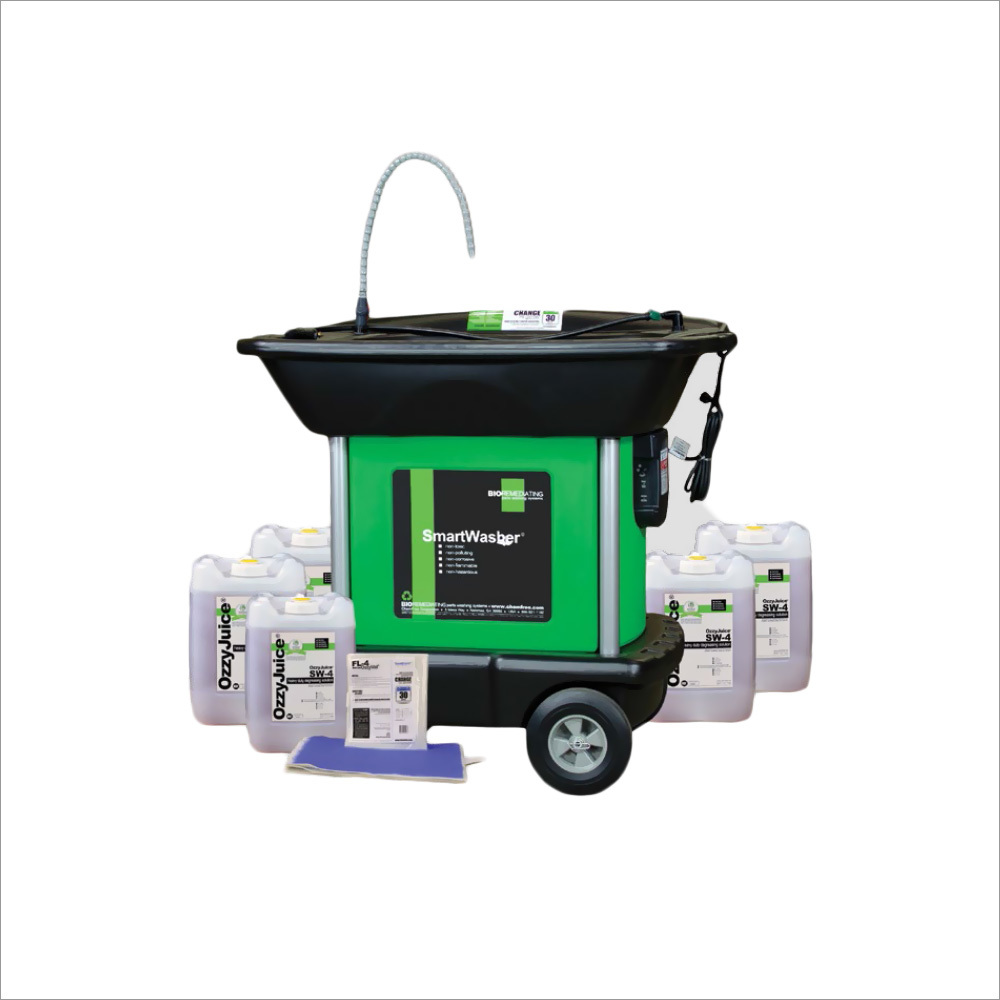 Mobile Heavy Weight Parts Washer Kit