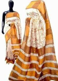 Batik Handloom Print Saree