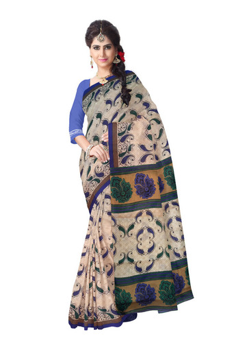 Printed Cotton Handloom Saree