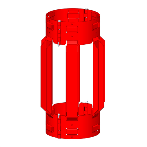 Hinged non welded positive centralizer
