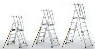 Telescopic Platform Ladder