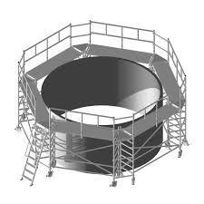 Round Scaffold