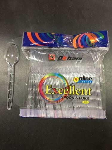 Excellent -  Plastic Tranparent Spoon
