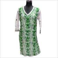Green kurti for Ladies